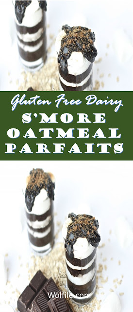 S'More Oatmeal Parfaits  Recipe (Gluten Free Dairy)