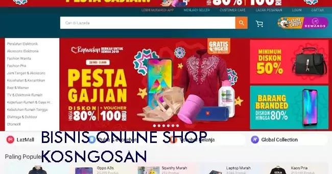 22 Jualan Bisnis Online Shop Paling Laris Tahun 2020 ...