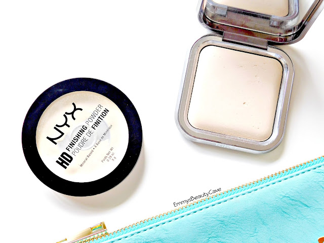 under eye brightening powders, NYX HD Banana Powder
