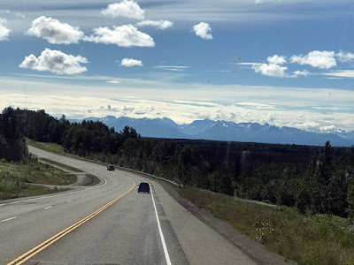 Beautiful Landscape on 3 South - Going to Anchorage, Alaska