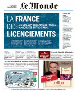 Le Monde Magazine 3 December 2020 | Le Monde News | Free PDF Download