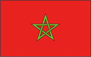 Bendera Maroko