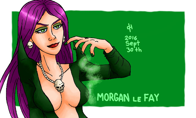 Marvel, Morgan le Fay
