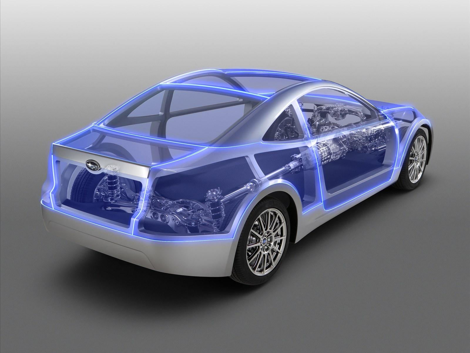 Car Pictures: Subaru Boxer Sports Car Architecture 2011