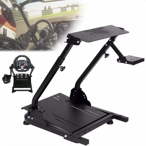 Review Nisorpa Racing Wheel Stand Height Adjustable