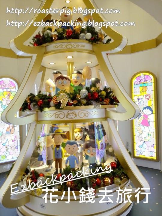 Yoho mall小丸子聖誕燈飾