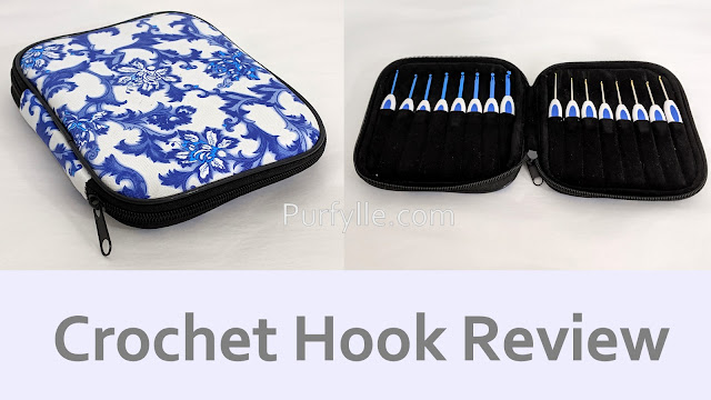Blue Porcelain Look Crochet Hook Review