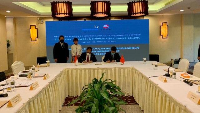 Perusahaan China, Sinovac, Sebut Indonesia Pembeli Terbesar Vaksin Corona