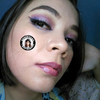 Vibrant Purple with BH Cosmetics Take Me to Brazille Pallete