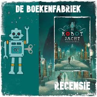 recensie van Robotjacht van Damien Love, uitgegeven door uitgeverij Condor