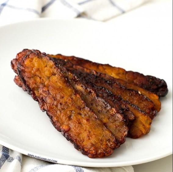 Tempeh Bacon #vegetarian #bacon