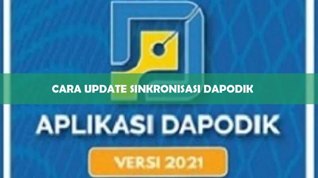 Cara Sinkron Dapodik 2021