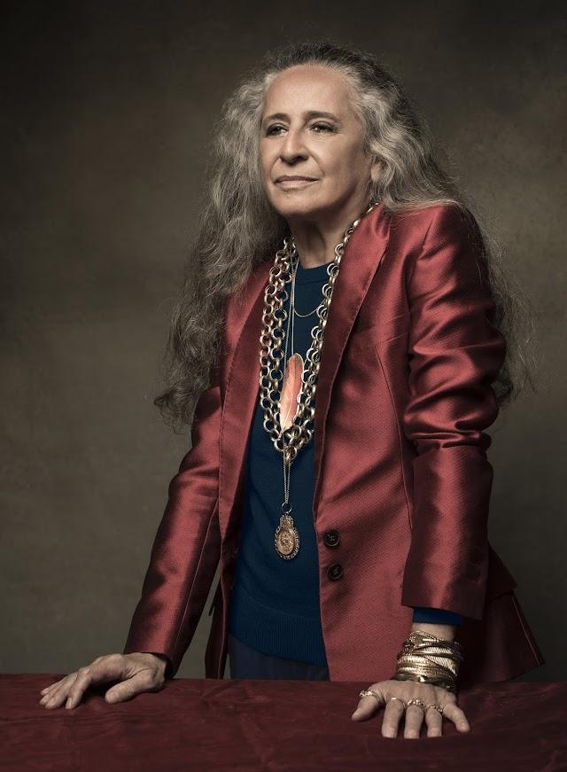 Maria Bethânia grava 'Chiquinha Gonzaga' para novela 'Éramos Seis'