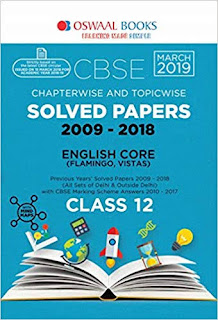 CLASS 12 ENGLISH CORE:- OSWAAL CBSE CHAPTER VISE AND TOPIC VISE SOLVED PAPERS