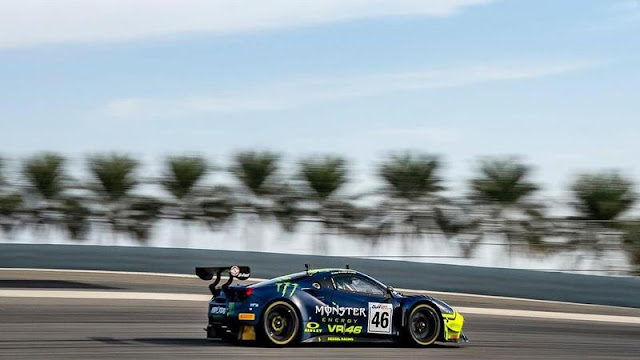 Rossi Dapat Juara 3 Di Balap Ketahanan Gulf 12 Jam