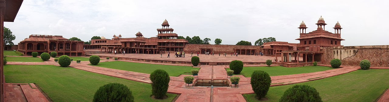 Fatehpur Sikri - This magnificent fortified ancient city in Agra