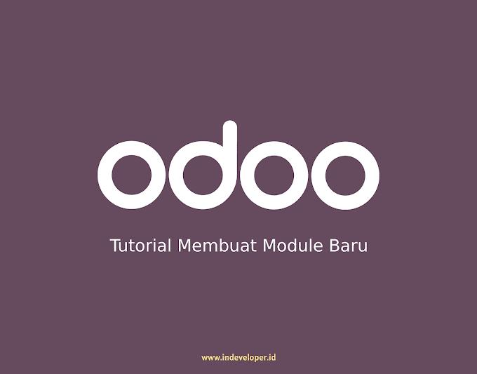 Tutorial Odoo 12, Cara Membuat Module Baru