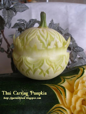 thai pumpkin carving