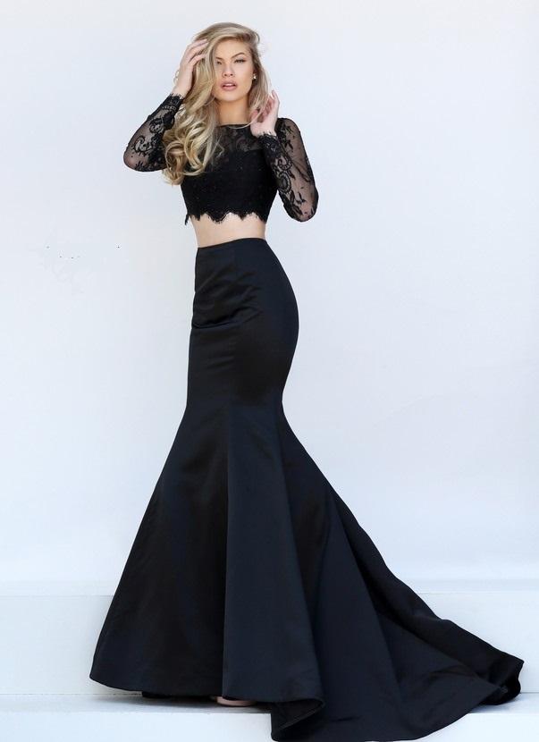 15 Hermosos Vestidos Negros De Noche