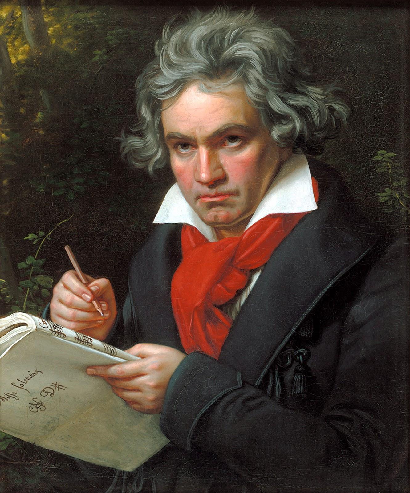 ヨーゼフ・カール・シュティーラーのルートヴィヒ・ヴァン・ベートーヴェンの肖像