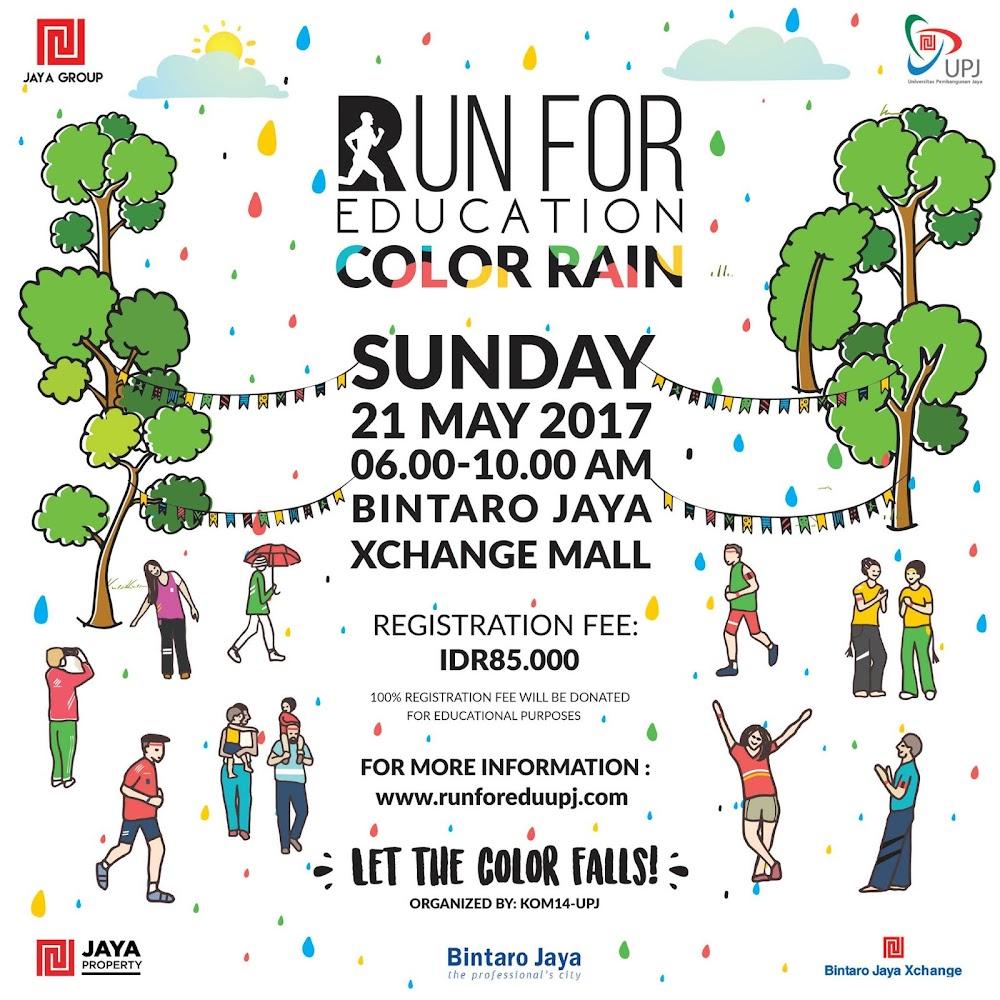 Run For Education - Color Rain • 2017