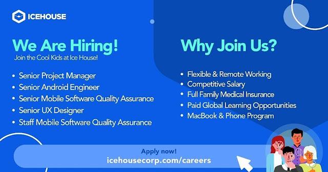 Lowongan Kerja IT Icehouse