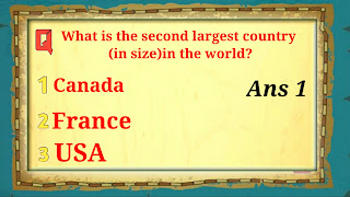 Q.5 What is the second largest country (in size) in the world?