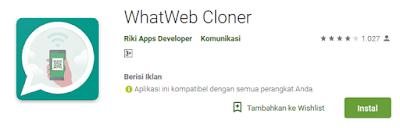 Cara Membuka Whatshapp di Android Berbeda Atau PC