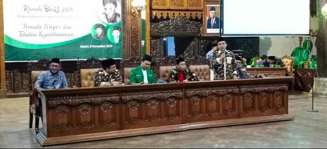 H. Yaqut Cholil Qoumas, Komisioner KPU RI Hasyim Asy'ari,
