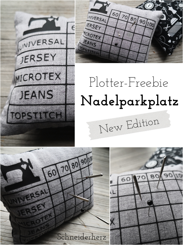 Plotter Freebie Nadelparkplatz