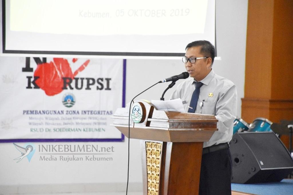 Jadi Percontohan Pembangunan Zona Integritas, RSDS Kebumen Bakal Lakukan Perubahan Besar