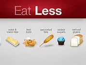 daily workout tips: Eat less food