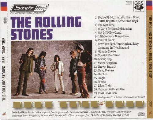 Rock Anthology: The Rolling Stones - Reel Time Trip (2011) FLAC