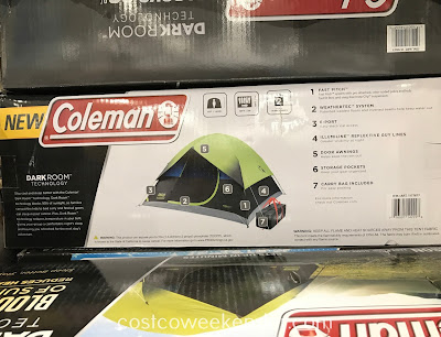 Coleman Fast Pitch Dark Room Dome Tent: great for any weekend warrior