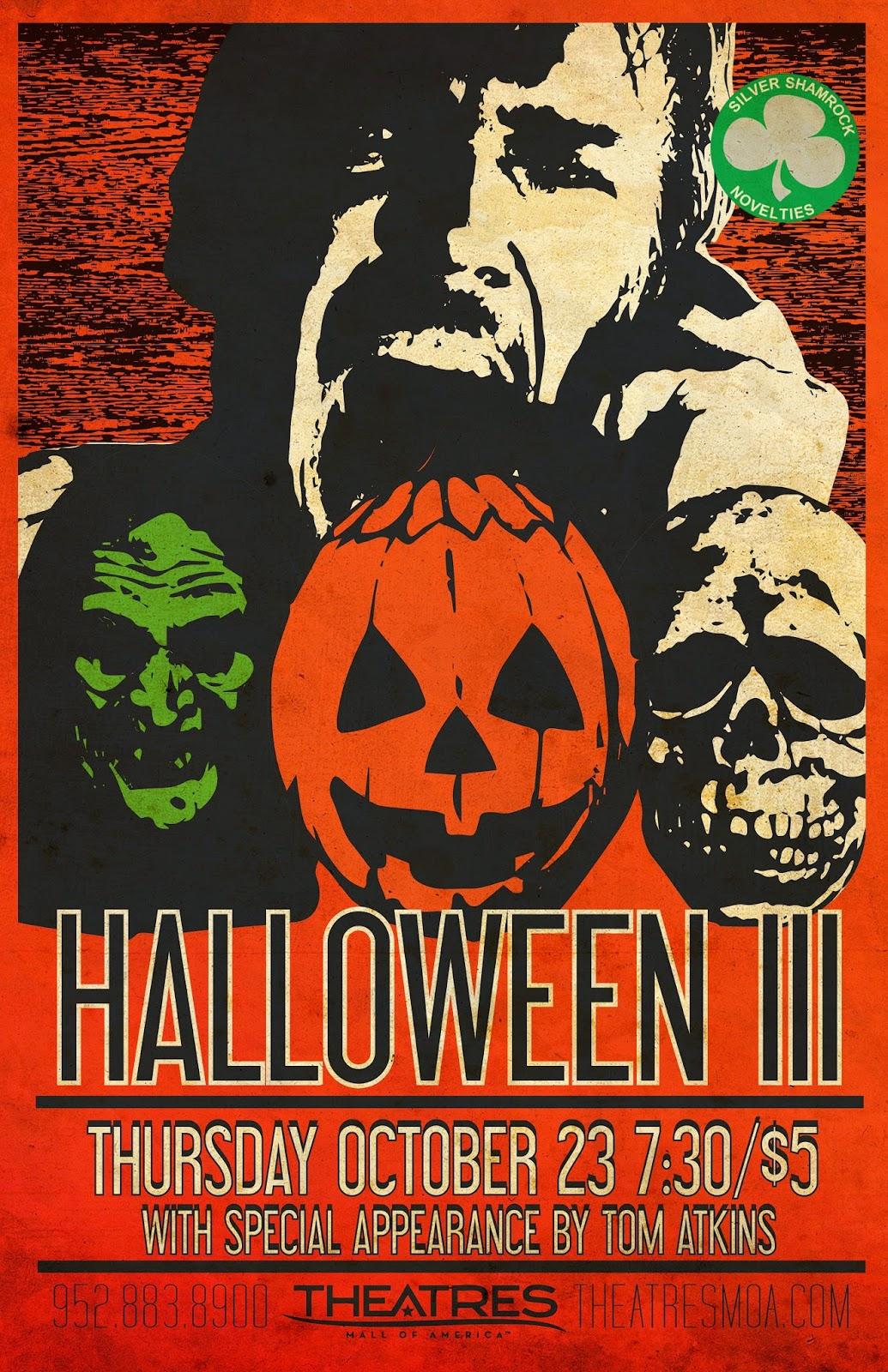 the horrors of halloween: halloween iii season of the witch artwork