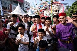 Hadiri HUT Kota Bogor Ke-537, Anies Baswedan Disambut Meriah Warga Bogor