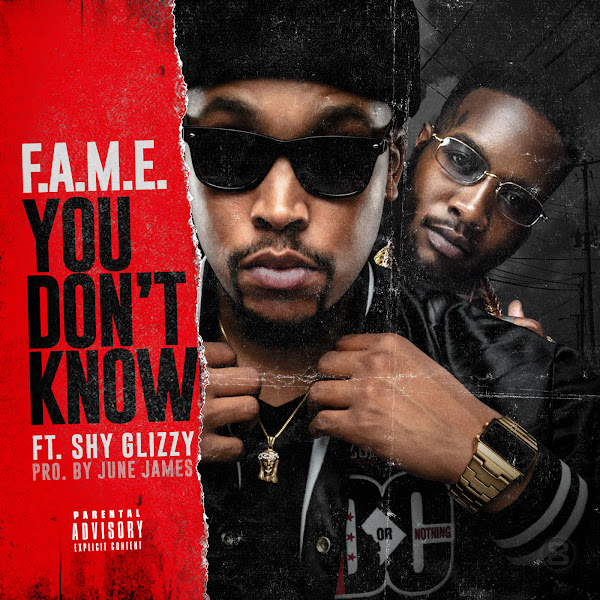 F.A.M.E. - You Don't Know (feat. Shy Glizzy) - Single  Cover