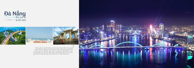 Sông Hàn nhìn từ trên cao