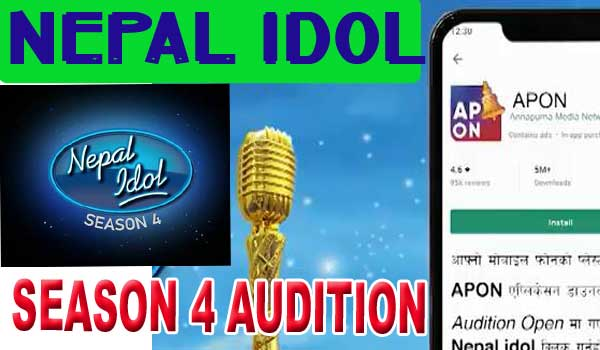 Nepal Idol Season 4 Digital Audition