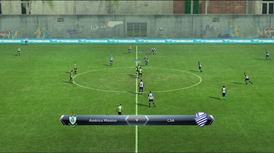 PES 2013 Stadium Practice Brazil by D5ouglas