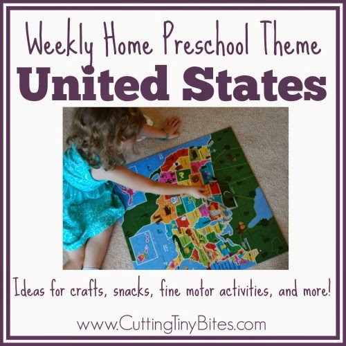 united states preschool theme
