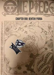 Update! Baca Manga One Piece Chapter 998 Full Sub Indo