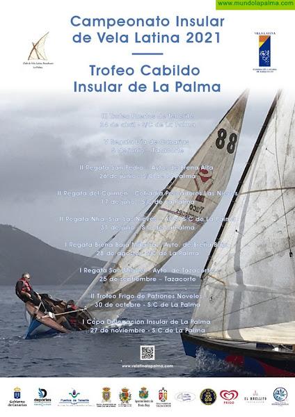 Este sábado se disputará el III Trofeo Puertos de Tenerife de Vela Latina