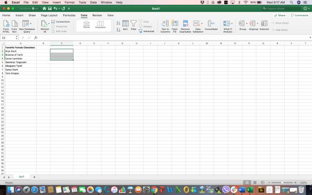 Cara Membuat Daftar Drop-Down di Microsoft Excel