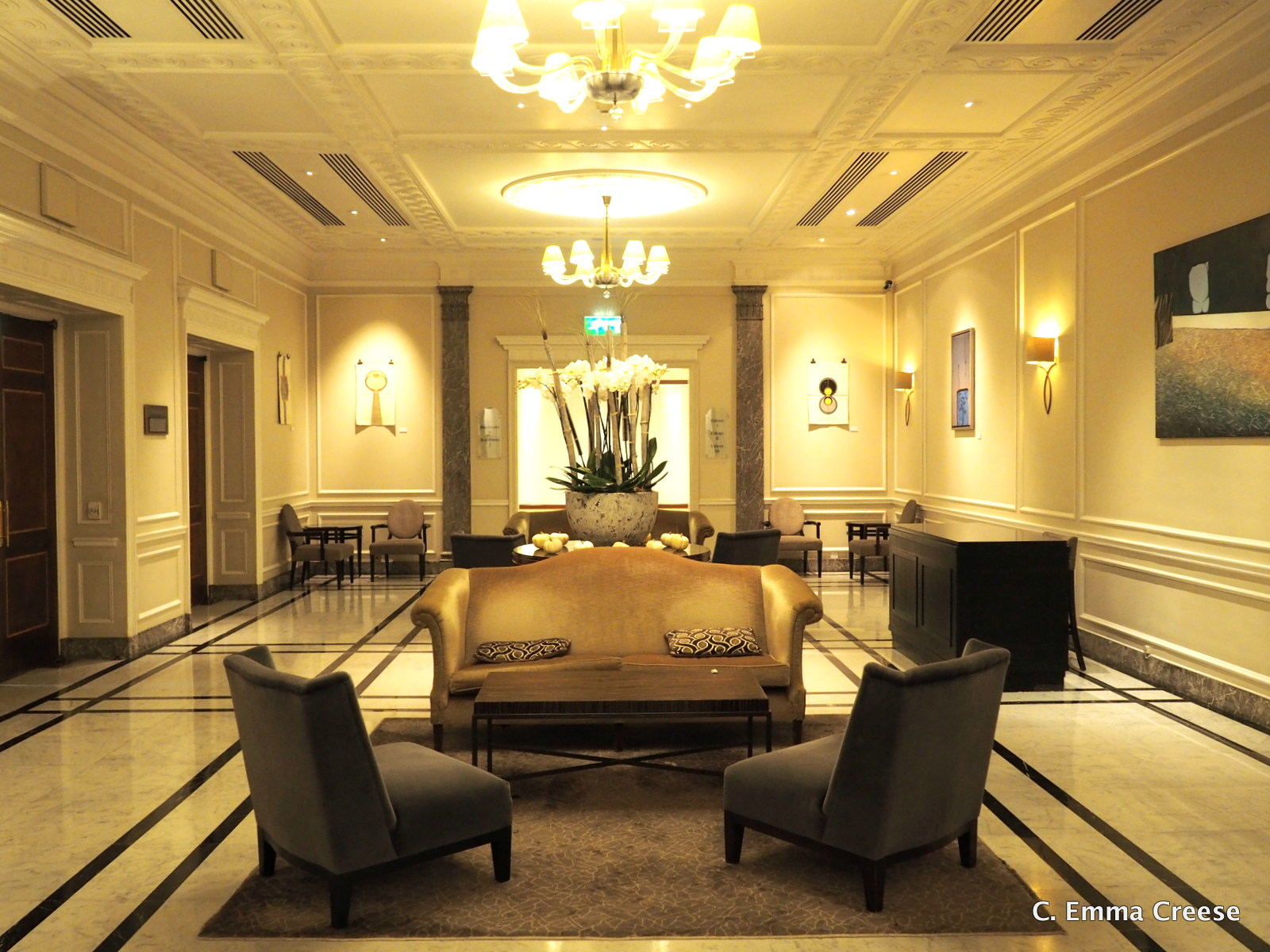 Beneath The Colour: The Hyatt Regency Hotel Marylebone | Adventures of a London Kiwi