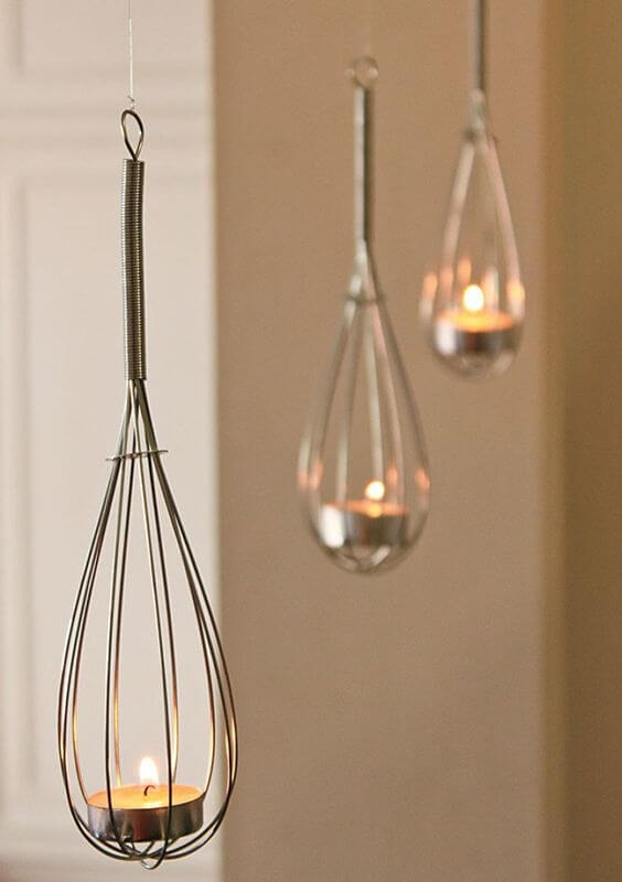 Kitchen items can become a decorative item