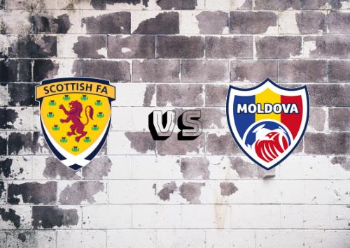 Escocia vs Moldavia  Resumen