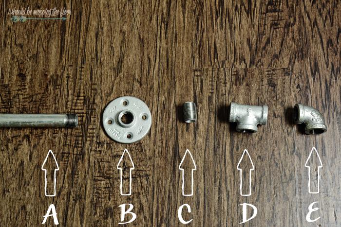 diy plumbing pipe curtain rod i