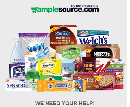 Samplesource Spring Sampler Survey
