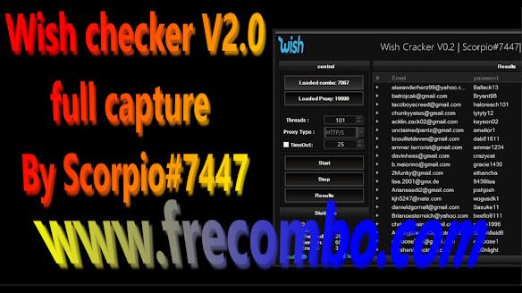 Wish checker V2.0 full capture By Scorpio#7447
